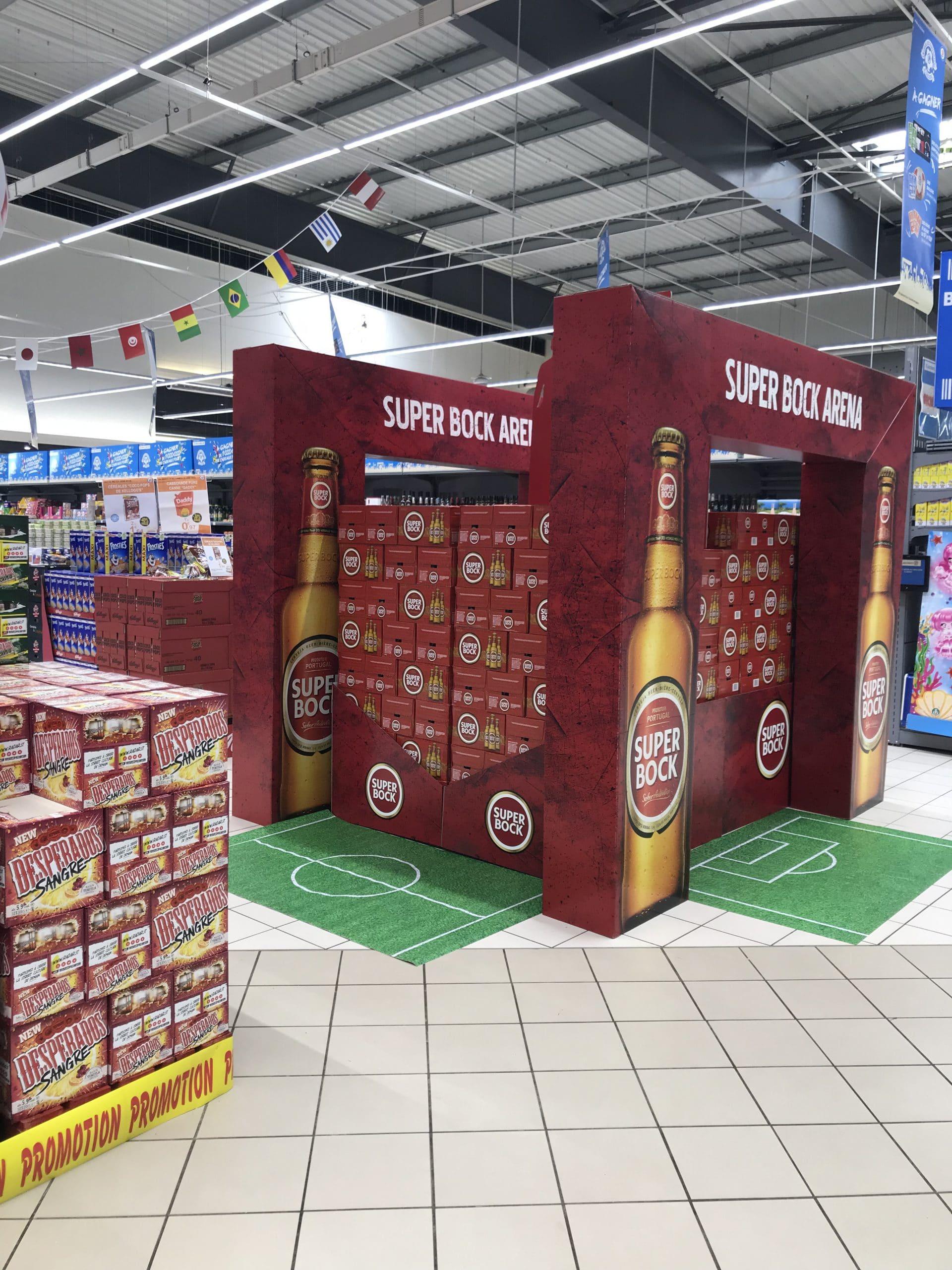 Une action commerciale liée à la coupe du monde de football
